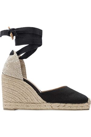 Castaner Women's Carina Canvas Wedge Espadrilles - - Size 35 (5)