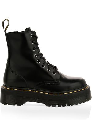 Dr. Martens Women's Jadon Leather Combat Boots - - Size 9 UK (11 US)