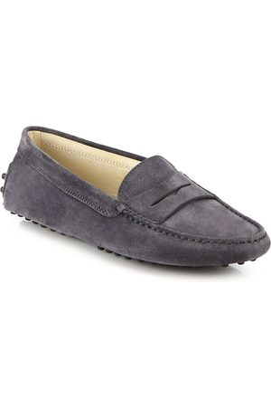 Tod's Women's Gommino Suede Driving Loafers - - Size 41 (11)