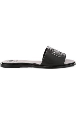 Tory Burch Women's Ines Flat Leather Sandals - - Size 9.5