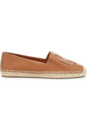 Tory Burch Women's Ines Leather Espadrilles - - Size 9
