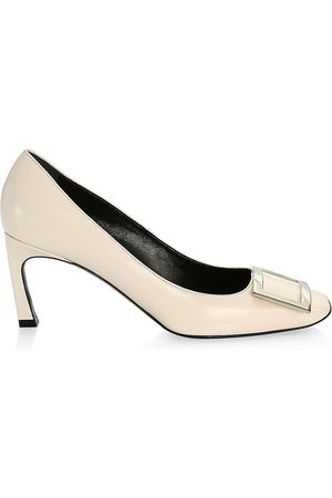 Roger Vivier Women's Belle Vivier Trompette Patent Leather Pumps - - Size 41 (11)