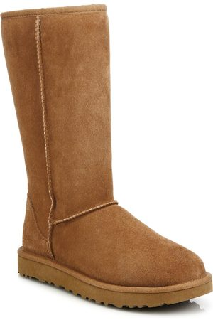 UGG Women's Classic Tall II Shearling-Lined Suede Boots - - Size 6