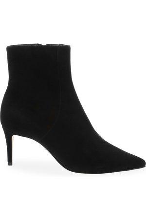 Schutz Women's Bette Suede Ankle Boots - - Size 10.5