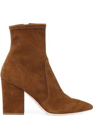 Loeffler Randall Women's Isla Suede Ankle Boots - - Size 6