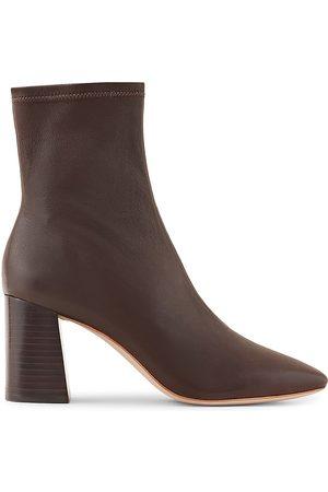 Loeffler Randall Women's Elise Leather Ankle Boots - - Size 11