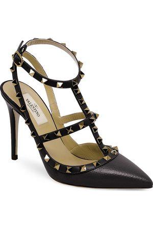 VALENTINO Women's Garavani Rockstud Leather Slingback Pumps - - Size 40 (10)