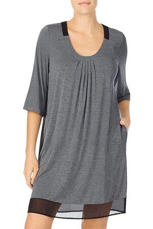 DKNY Sleepwear Chiffon Hem Sleepshirt