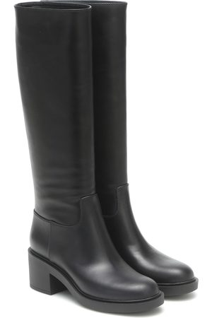 Gianvito Rossi Hynde leather knee-high boots