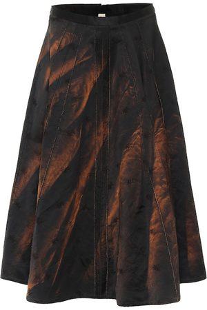 Marni Cotton-blend midi skirt
