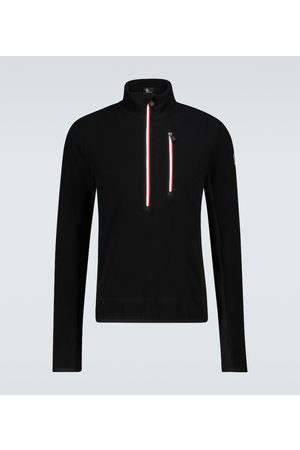 Moncler High-neck fleece sweater