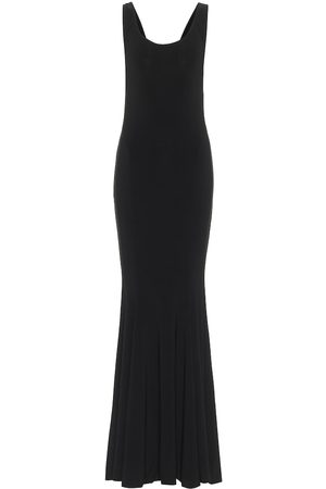 Norma Kamali Marissa stretch-jersey fishtail gown