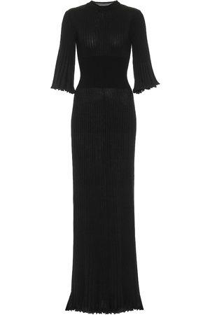 Bottega Veneta Ribbed-knit maxi dress