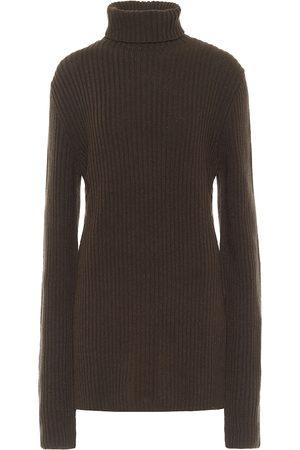 ANN DEMEULEMEESTER Wool turtleneck sweater