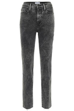 Frame Le Sylvie high-rise straight jeans