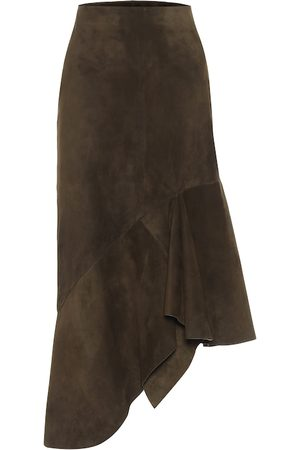 Tom Ford Suede midi skirt
