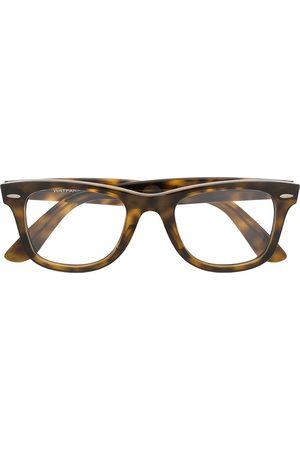 Ray-Ban Wayfarer tortoiseshell glasses
