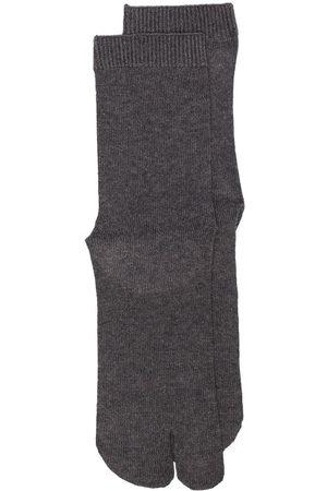 Maison Margiela Tabi-toe cotton socks - Grey