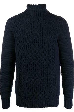 DRUMOHR Men Turtlenecks - Cable-knit roll neck jumper