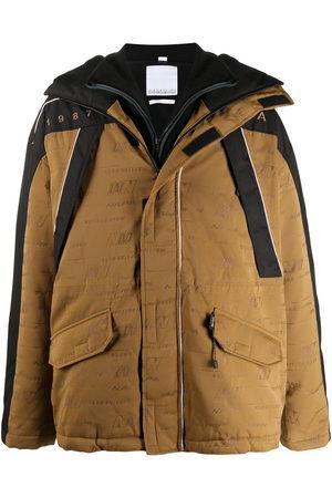 NAPA Oversized logo print coat