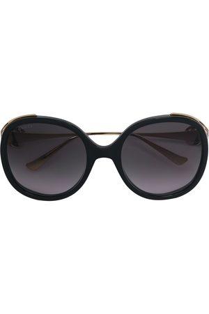 Gucci Eyewear Round frame oversized sunglasses