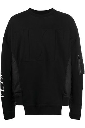 VALENTINO Logo-print long-sleeve sweatshirt