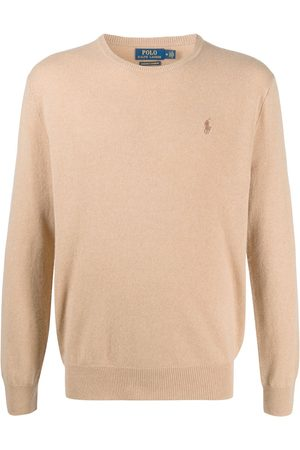 Polo Ralph Lauren Embroidered logo cashmere pullover