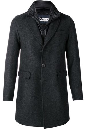 HERNO Classic single-breasted coat - Grey