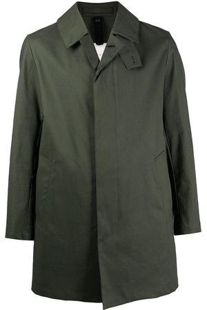 MACKINTOSH Men Coats - CAMBRIDGE single-breasted car coat