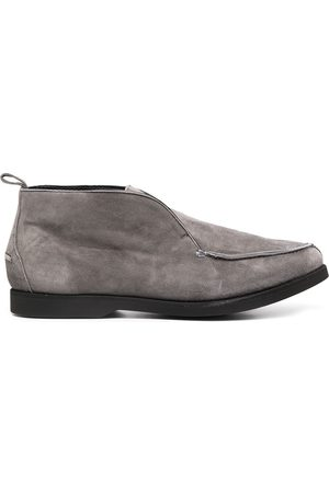Kiton Suede slip-on loafers - Grey