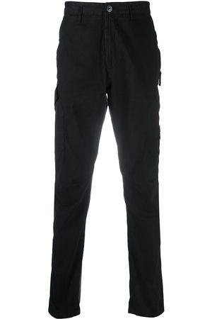 Stone Island Men Cargo Pants - Straight-leg cargo trousers