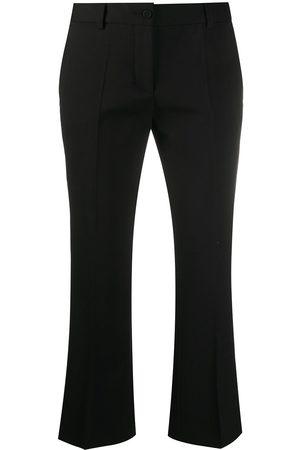 ALBERTO BIANI Cropped tailored trousers - 90