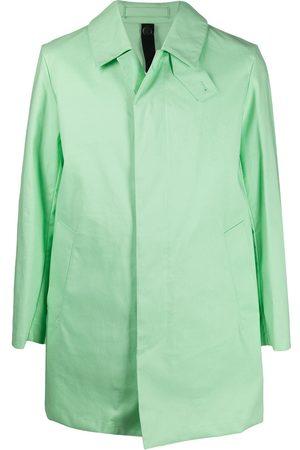 MACKINTOSH CAMBRIDGE single-breasted coat