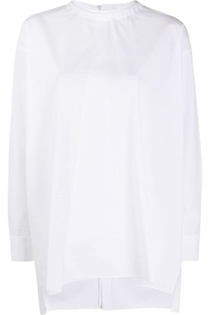 Marni Asymmetric oversized blouse