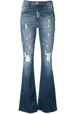AMAPÔ Women Jeans - Maine flared denim trousers