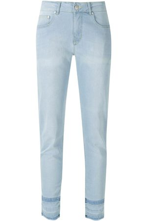 AMAPÔ Samoa cropped skinny trousers