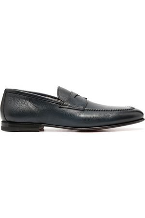 santoni Hard sole loafers