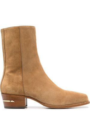 AMIRI Suede ankle boots - Neutrals
