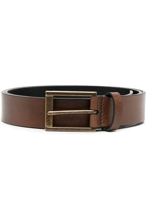 Dolce & Gabbana Grained leather buckle belt