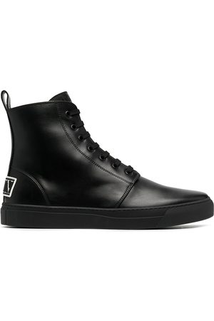 VALENTINO GARAVANI VLTN rear patch sneakers