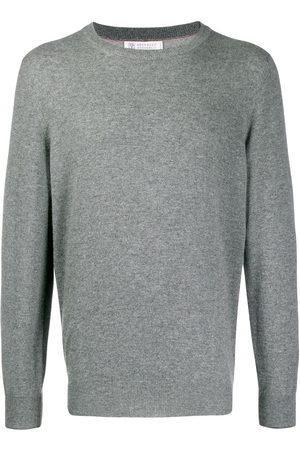 Brunello Cucinelli Crew-neck cashmere jumper - Grey