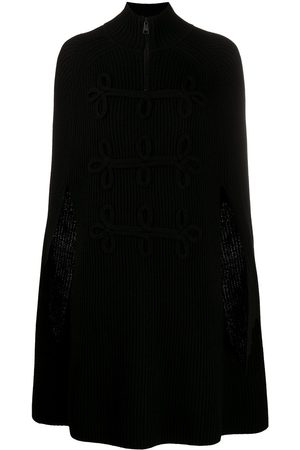 Karl Lagerfeld Women Ponchos & Capes - Knitted cape