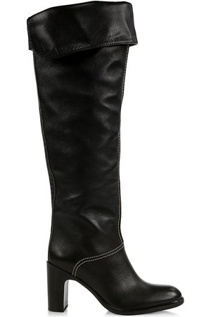 See by Chloé Women's Annia Over-The-Knee Leather Boots - - Size 41 (11)