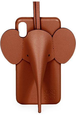 Loewe Women's Elephant Leather iPhone X/XS Cover