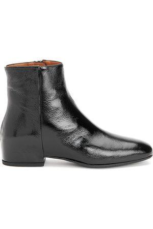 Aquatalia Women's Ulyssa Patent Leather Ankle Boots - - Size 5.5