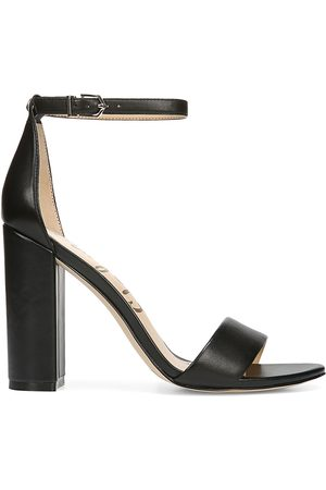Sam Edelman Women's Yaro Ankle-Strap Leather Sandals - - Size 9