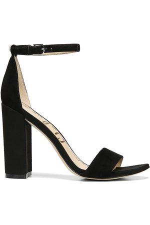 Sam Edelman Women's Yaro Ankle-Strap Suede Sandals - - Size 9.5