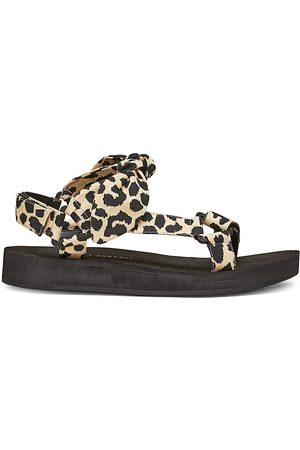 Loeffler Randall Women's Maisie -Print Sport Sandals - - Size 11