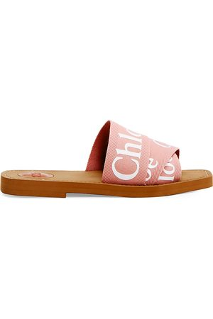 Chloé Women's Woody Flat Sandals - - Size 34 (4)