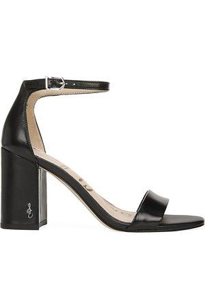 Sam Edelman Women's Daniella Ankle-Strap Leather Sandals - - Size 9